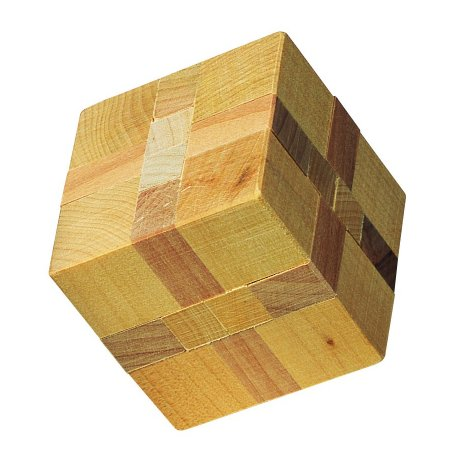 Wooden Cube Puzzle from House of Marbles - supplied by ...